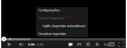 Dicas para colocar a legenda no vídeo do youtube
